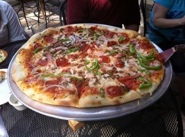 Perillo's Pizzeria whole pizza