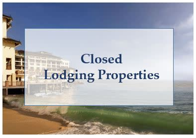 Closed Lodging Properties