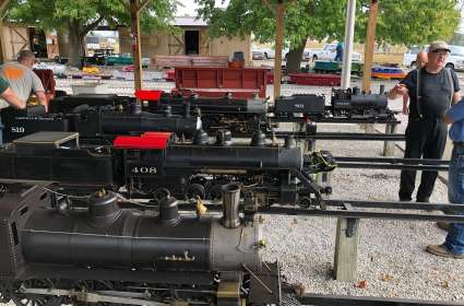 Mid-South Live Steamers Fall Meet