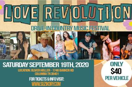 Love Revolution' Drive-in Country Music Festival