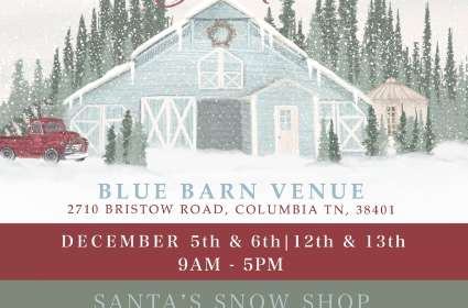 A Blue Barn Christmas