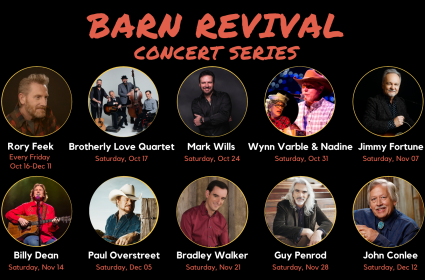 Barn Revival Concert Series