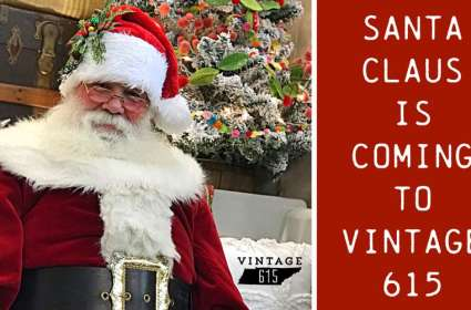 Annual Vintage 615 Photos With Santa (Visit 2)