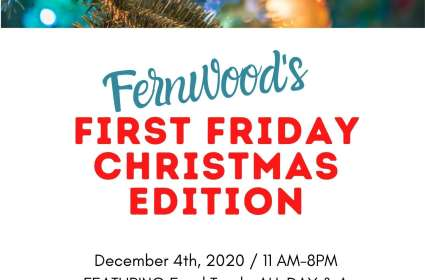 Fernwood's First Friday Christmas Edition
