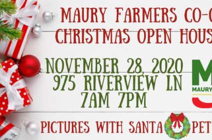 Maury Farmers Co-op Christmas Open House
