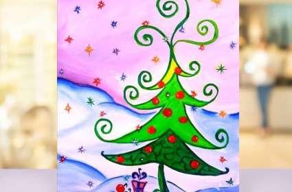 Curly Christmas Tree