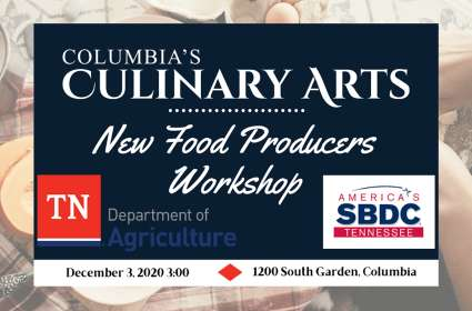 New Food Producers Workshop