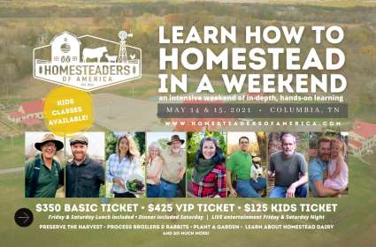 Learn How to Homestead In a Weekend