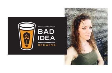 Bethany Trainor at Bad Idea Brewing