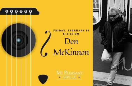 Live Music with Don McKinnon