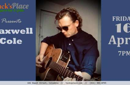 Friday Night Music w/ Maxwell Cole