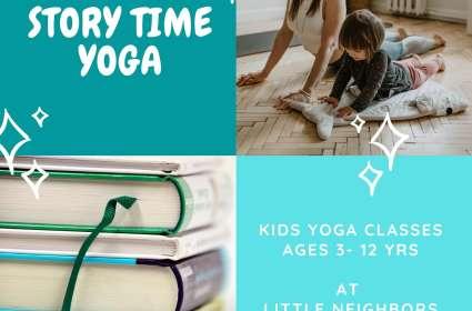 Story Time Yoga (6-12 yrs)