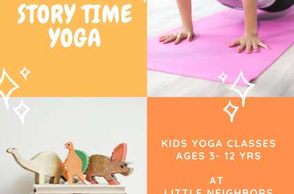 Story Time Yoga (3-5 yrs)