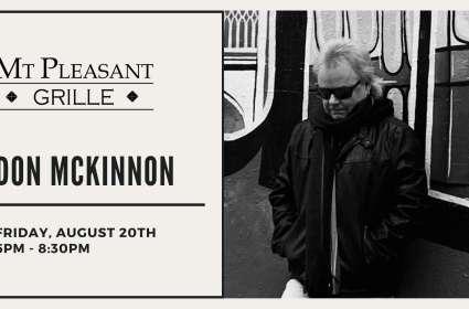 Live Music with Don McKinnon