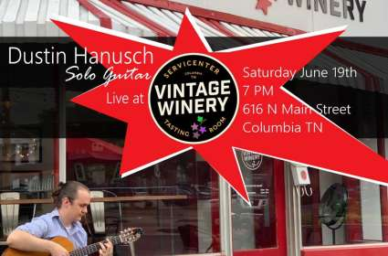 Solo Guitarist Dustin Hanusch