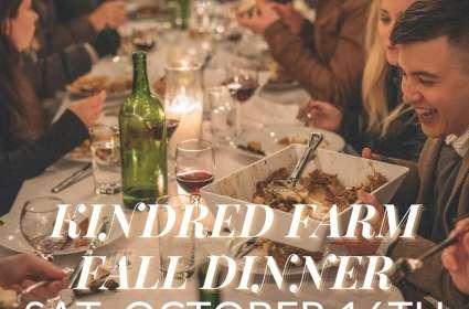 Kindred Farm Fall Dinner