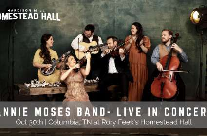 Hardison Mill Homestead Hall Concert - Annie Moses Band