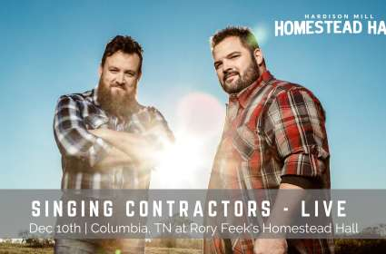 Hardison Mill Homestead Hall Concert - The Singing Contractors