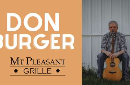 Live Music with Don Burger!