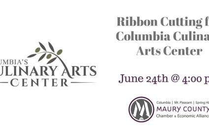 Ribbon Cutting for Columbia Culinary Arts Center