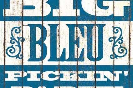 Big Bleu Pickin' Party!
