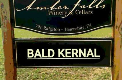 Bald Kernal At Amber Falls Winery