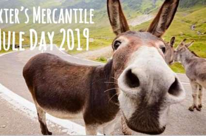 Baxter's Mercantile Mule Day Pop Up Show