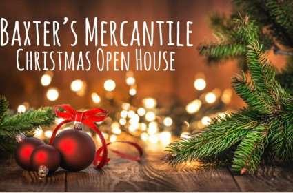 Baxter's Mercantile Christmas Open House