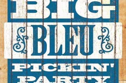 Big Bleu Pickin' Party