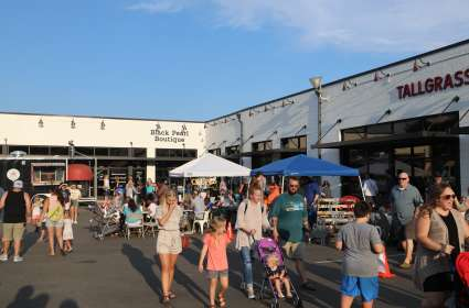 First Fridays Food Trucks at New South Marketplace