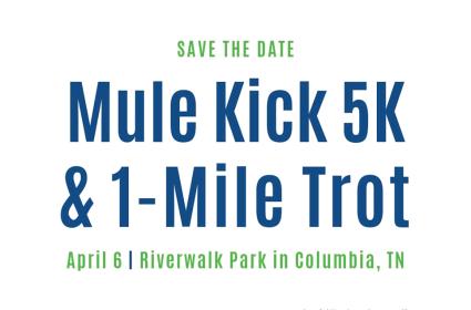 Mulekick 5k and 1-Mile Trot