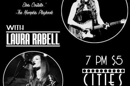 Kristen Cothron & The Darkside with  Laura Rabell at Cities April 12th