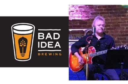 Don McKinnon at Bad Idea Brewing