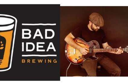 Lawrence Nemenz at Bad Idea Brewing