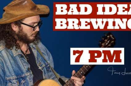 Lucas McCoy LIVE: Bad Idea Brewing