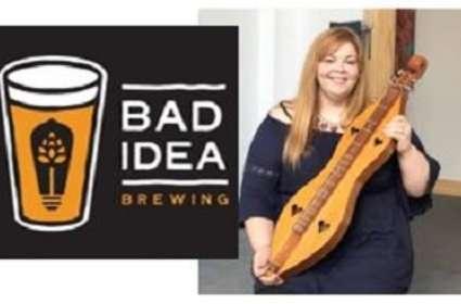 Melissa Buck at Bad Idea Brewing