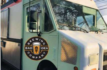 Mostarda Food Truck at Bad Idea Brewing