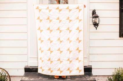 Learn to Quilt: Butterfly Quilt - Making Your Quilt Top (Class 2)