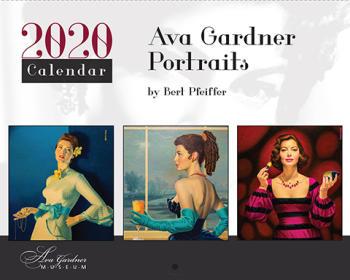 Ava Gardner Museum 2020 Calendar, Smithfield, NC.
