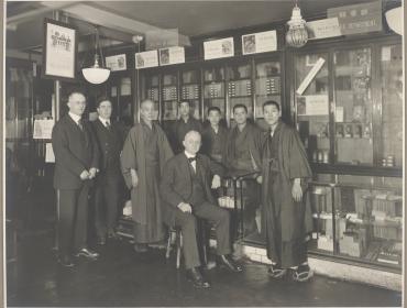 George Eastman in 1920