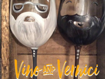 Sip & Paint: Wizard Headmaster and Gamekeeper Glasses Thurs February 21