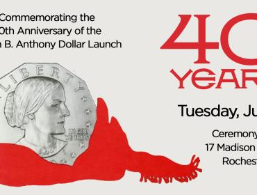 40 Years of the Susan B. Anthony Dollar