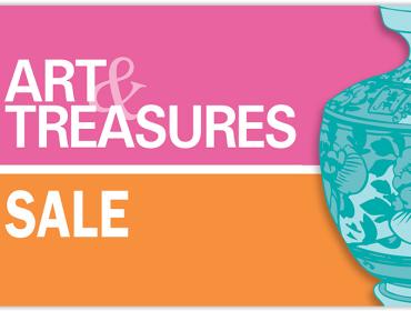Art & Treasures- Sale Day