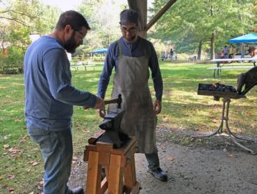 Blacksmithing Fundamentals at the Cumming Nature Center