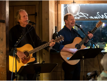 Live Music with Bob Walpole  with special guest Rick McLay at Via Girasole Wine Bar Thursday, December 19, 7-10pm