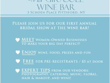 Women Supporting Women - Bridal Show  at Via Girasole Wine Bar  Sunday, February 17th 12:00pm – 4:00pm