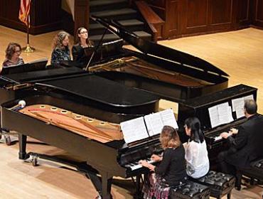 Spotlight on Faculty – Celebration of the Piano