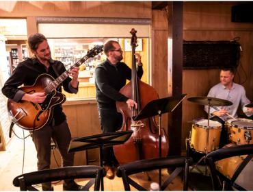 Live Music with Chris Potter Jazz Trio at Via Girasole Wine Bar