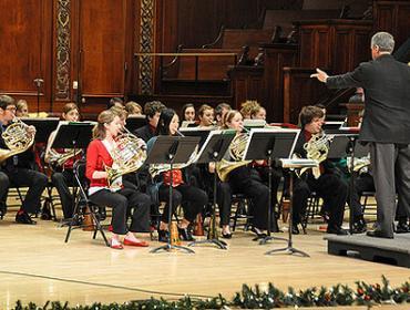 Live from Hochstein – Eastman Horn Choir
