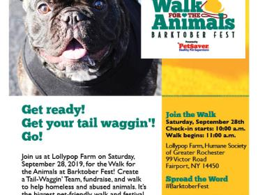 Walk for the Animals at Barktober Fest